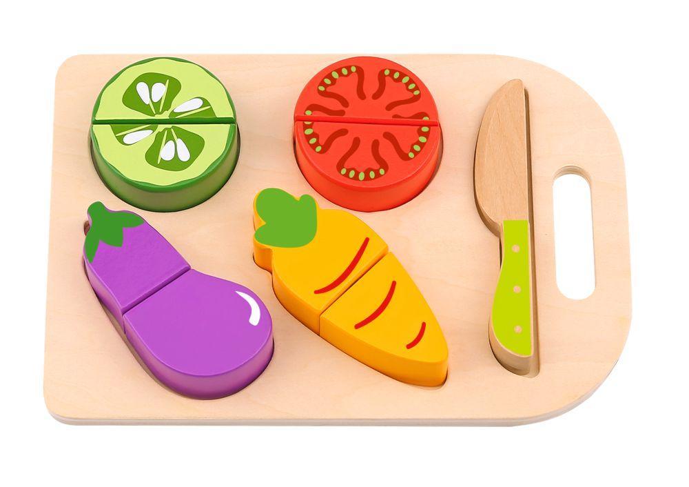 Tabla con verduras para cortar Tooky Toy