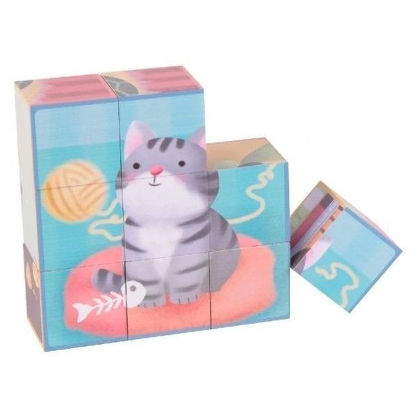 Puzzle Bloques Mascota