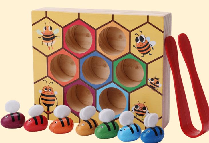 Panal abeja madera