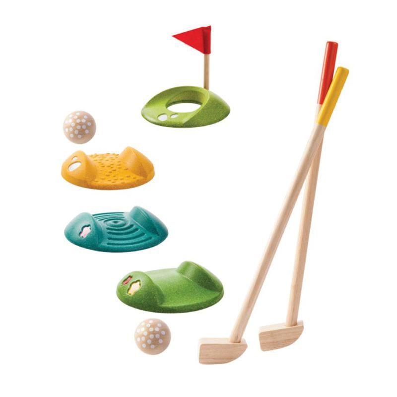 Juego Mini Golf Madera