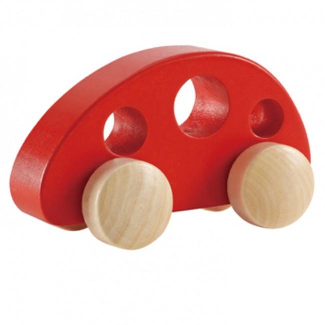 Mini auto de madera Rojo Hape