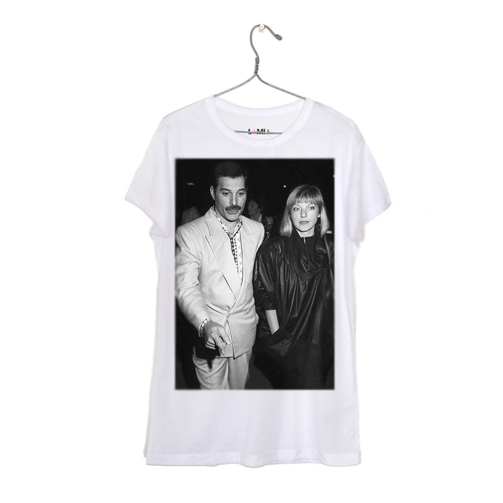 ad135bf1c444a Polera Freddie Mercury y Mary Austin