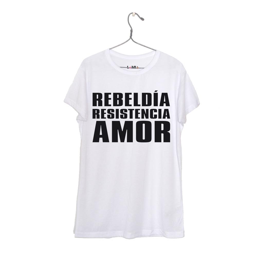 Rebeldía Resistencia Amor #1
