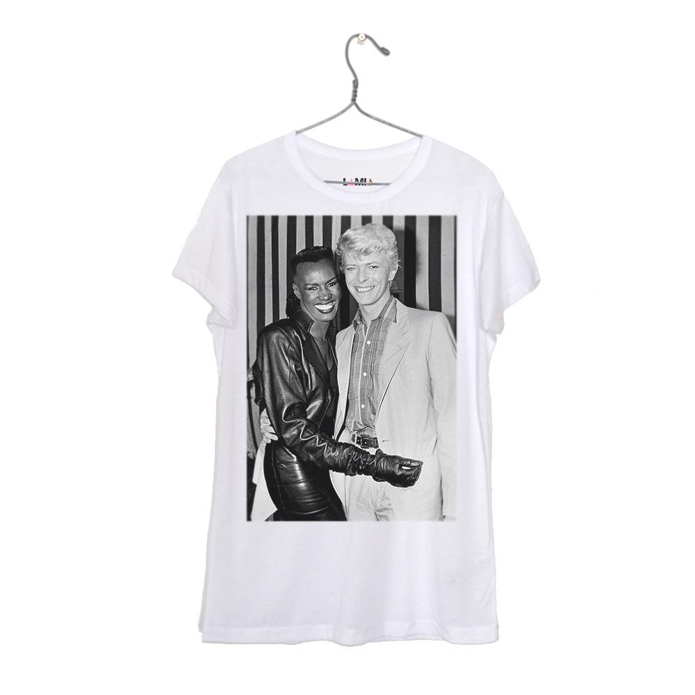 Grace Jones y David Bowie #1