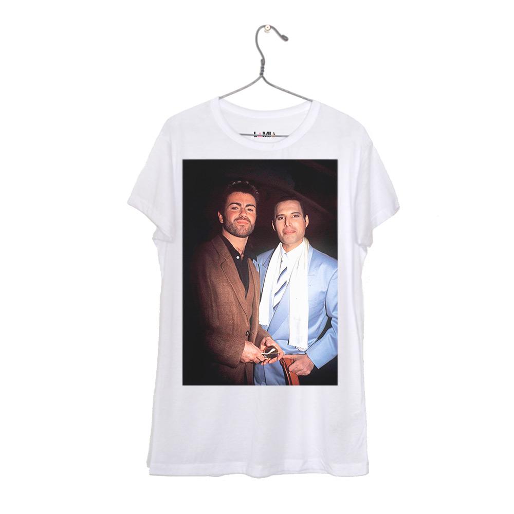 George Michael y Freddie Mercury #1