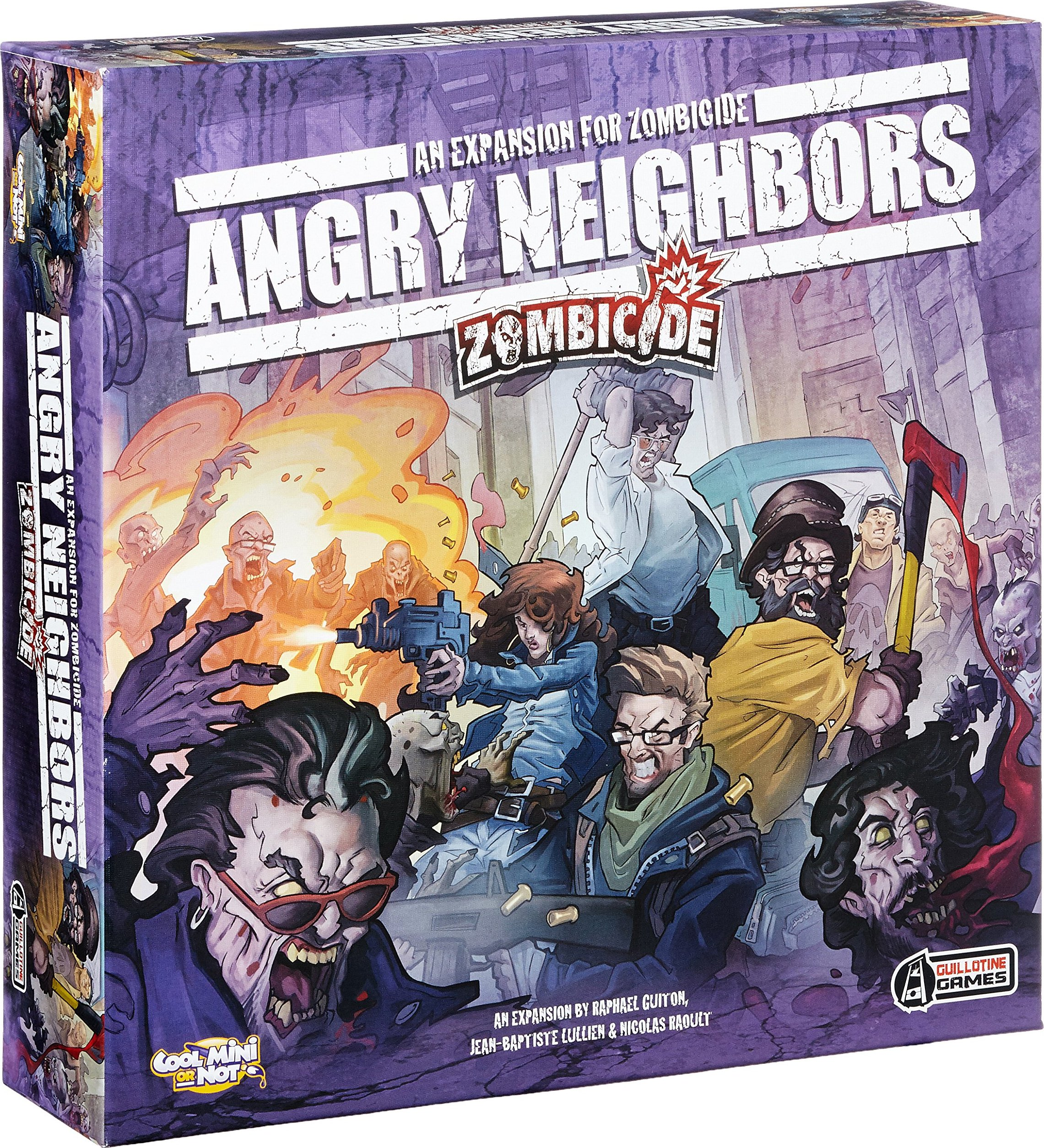 Zombicide: Angry Neighbors - Expansión