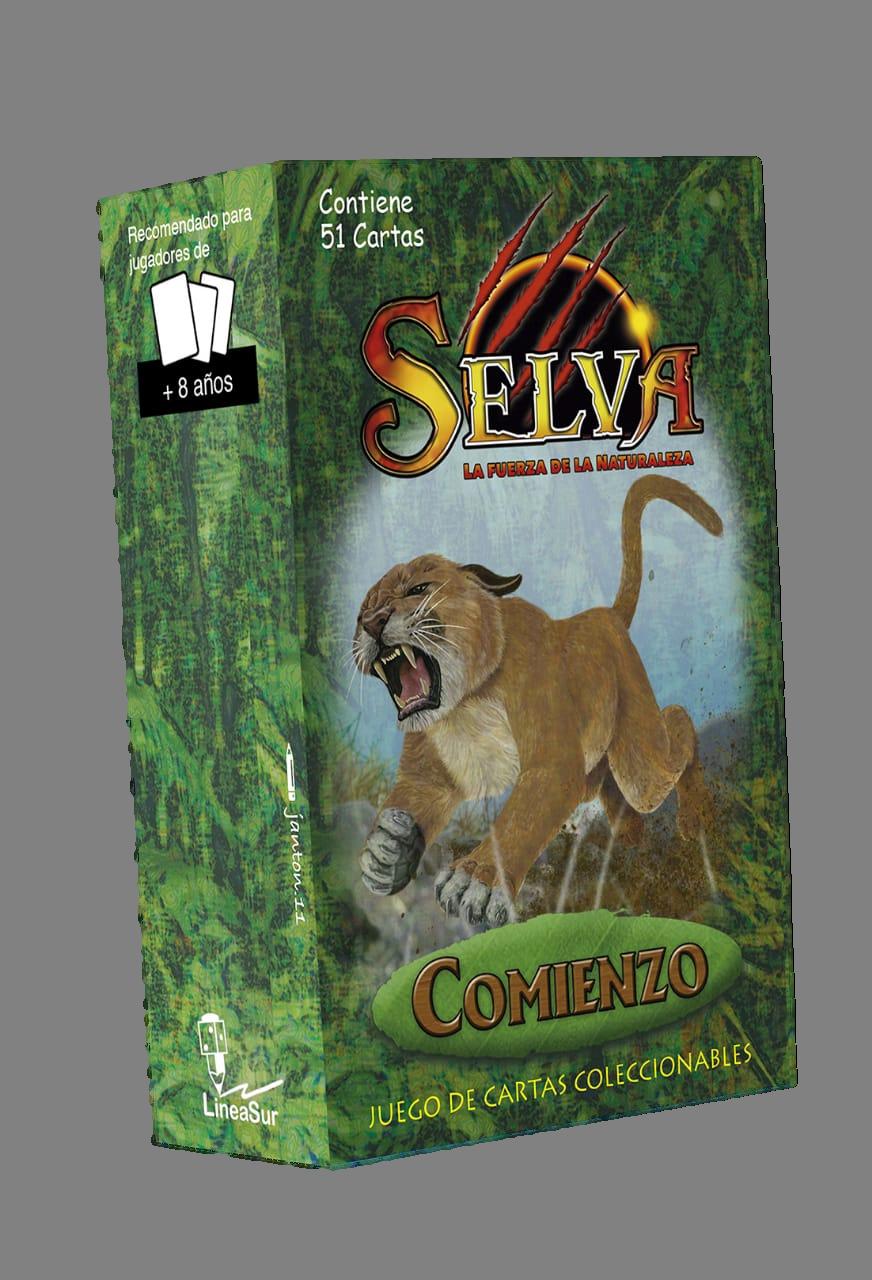 """Mazo preconstruido SELVA TCG edición """"Comienzo"""""""