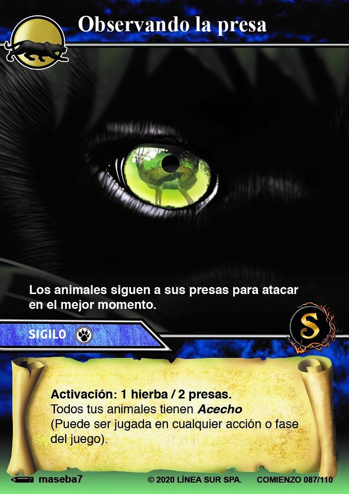 "Display 20 sobres SELVA TCG edición ""Comienzo"""