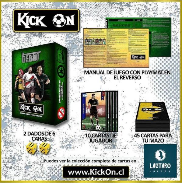 """Mazo preconstruido Kick On edición """"El Debut"""""""