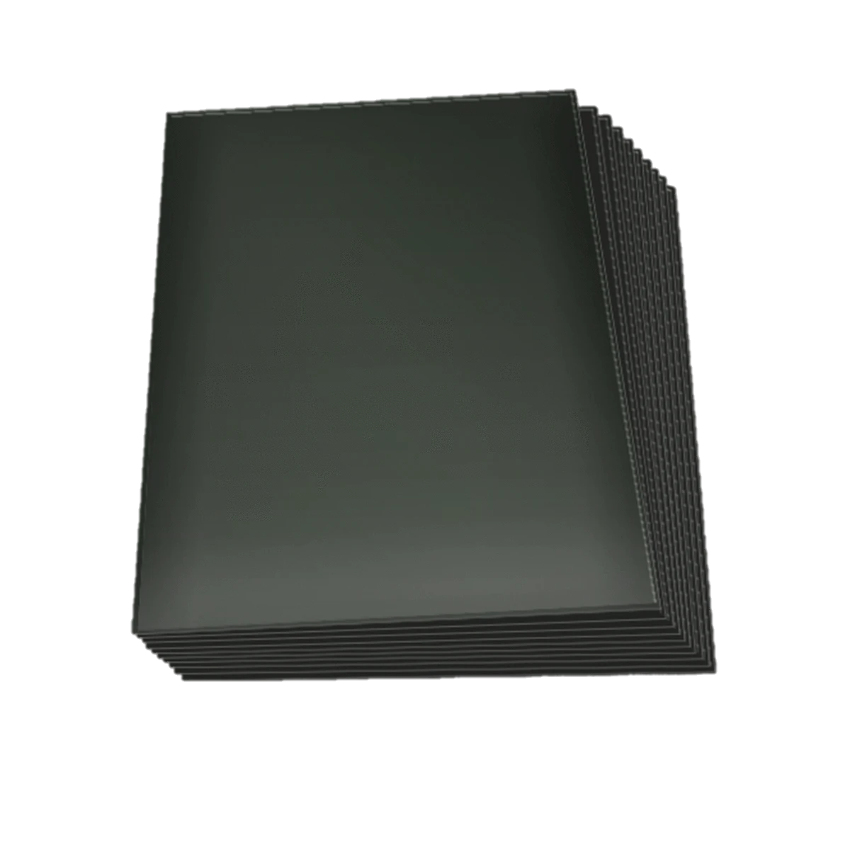 Set de 60 protectores Small Topdeck color negro.