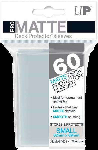 Set de 60 protectores Small Ultra Pro - transparente