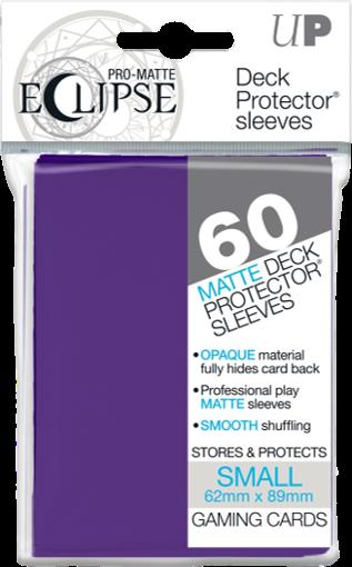Set de 60 protectores Small Ultra Pro Eclipse - Púrpura