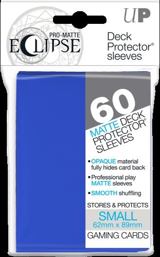 Set de 60 protectores Small Ultra Pro Eclipse - Azul