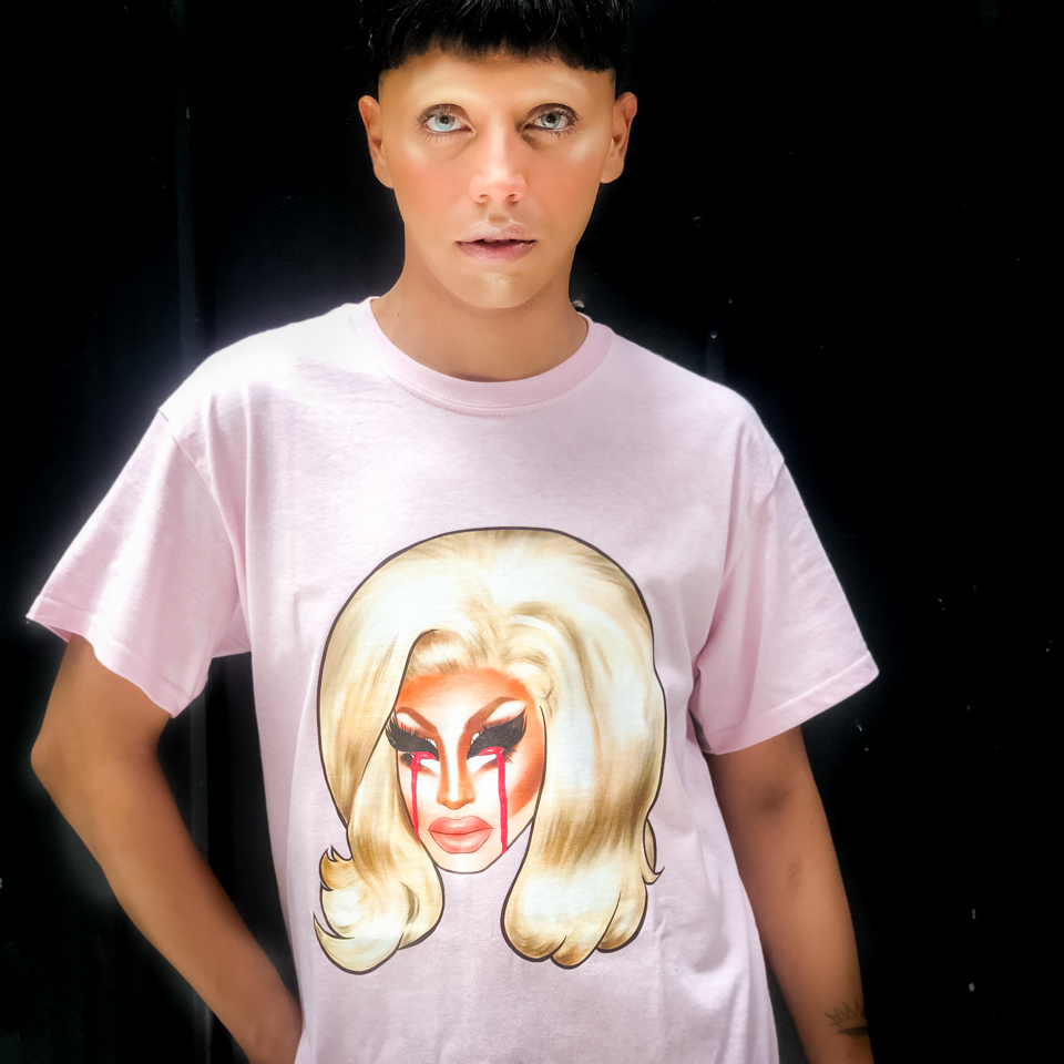 POLERA TRIXIE MATTEL CRY FOR HELL