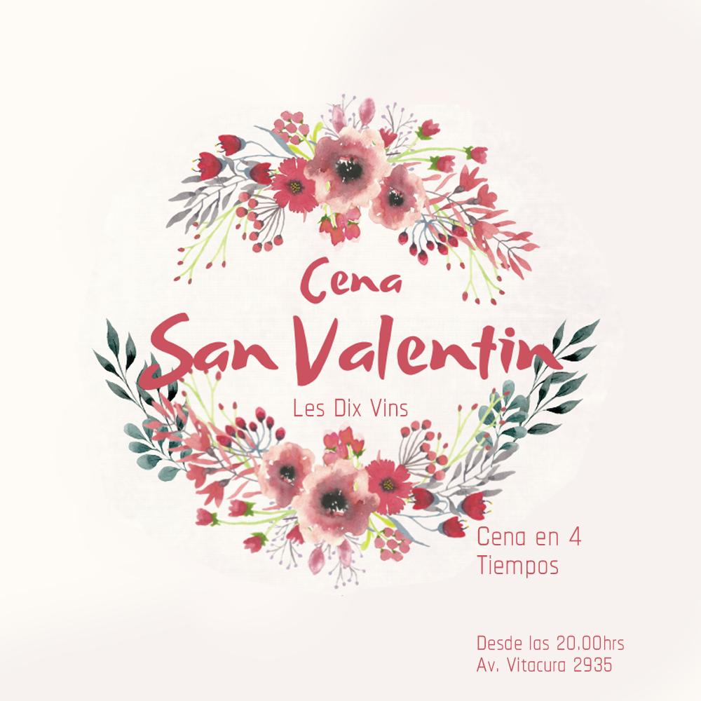 Noche San Valentin - 14 de Febrero en Les Dix Vins