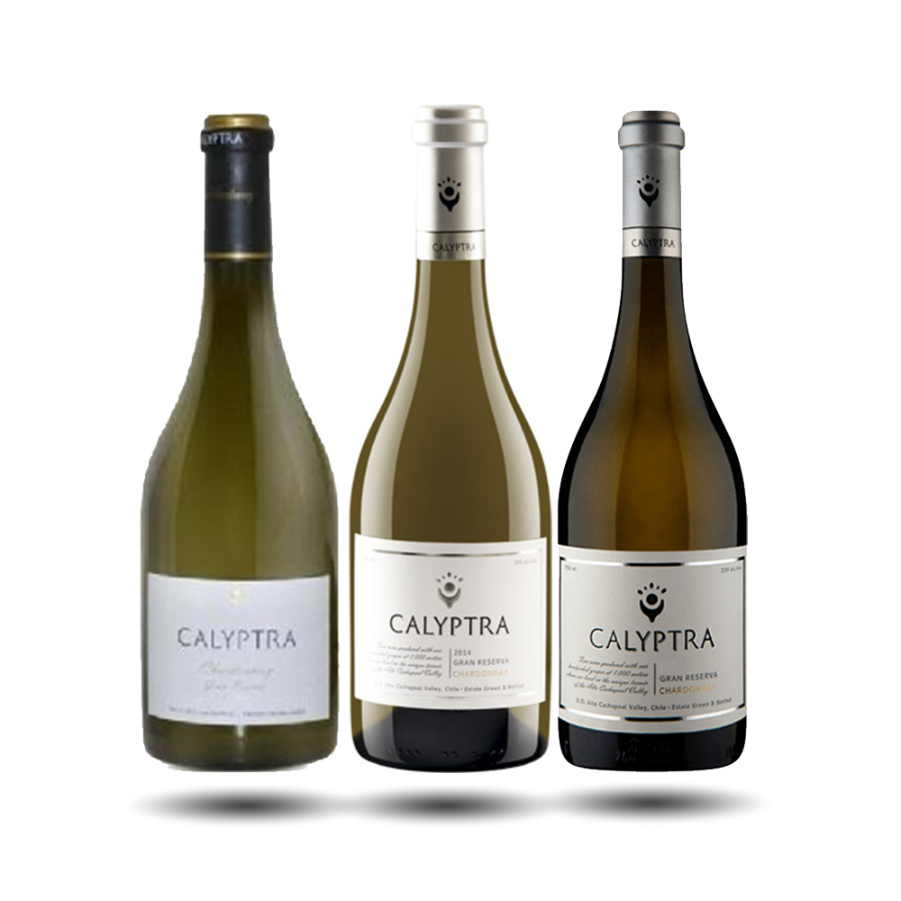 Calyptra - Vertical Chardonnay Gran Reserva, 2010/2012/2014