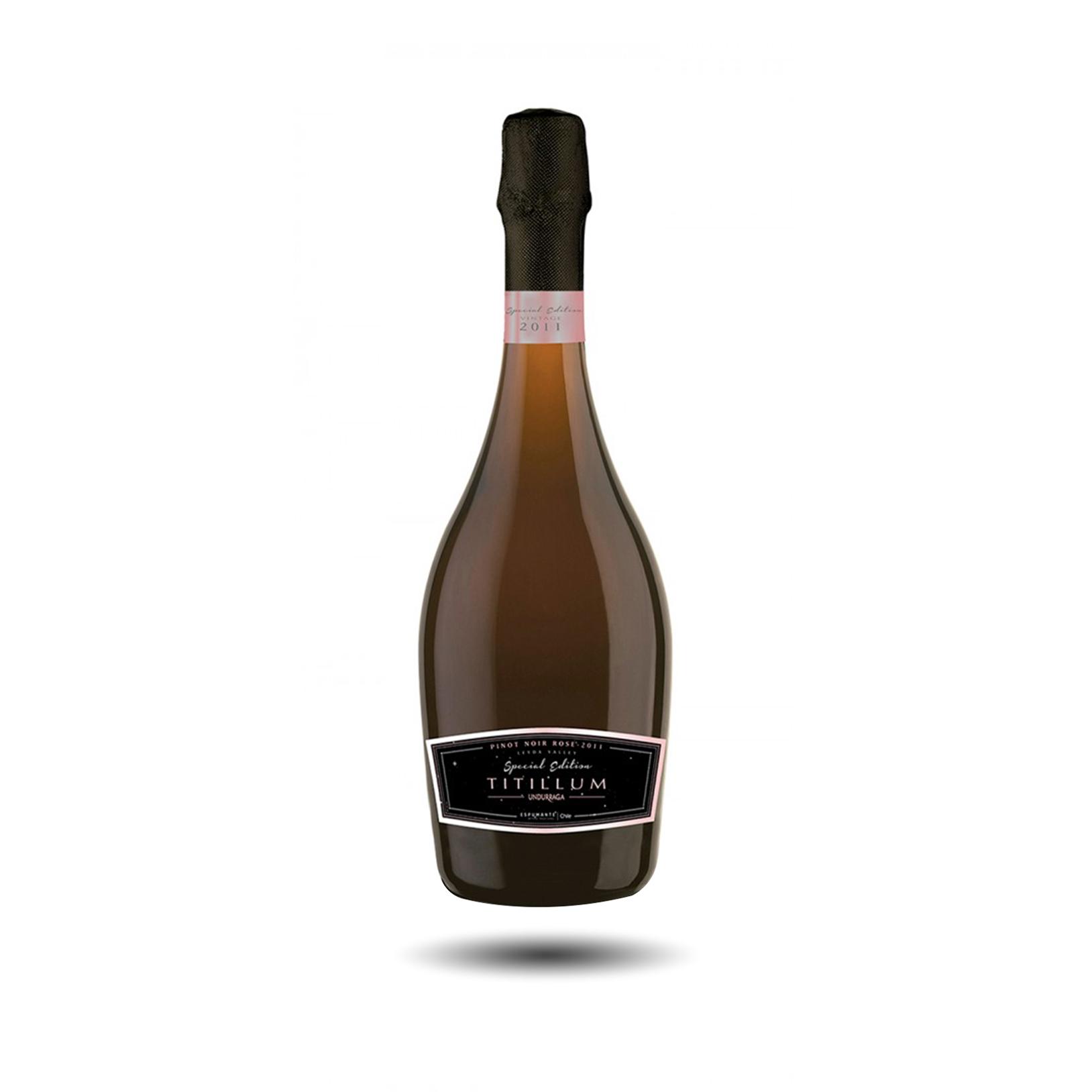 Undurraga, Titillum - Espumante Pinot Noir, 2011