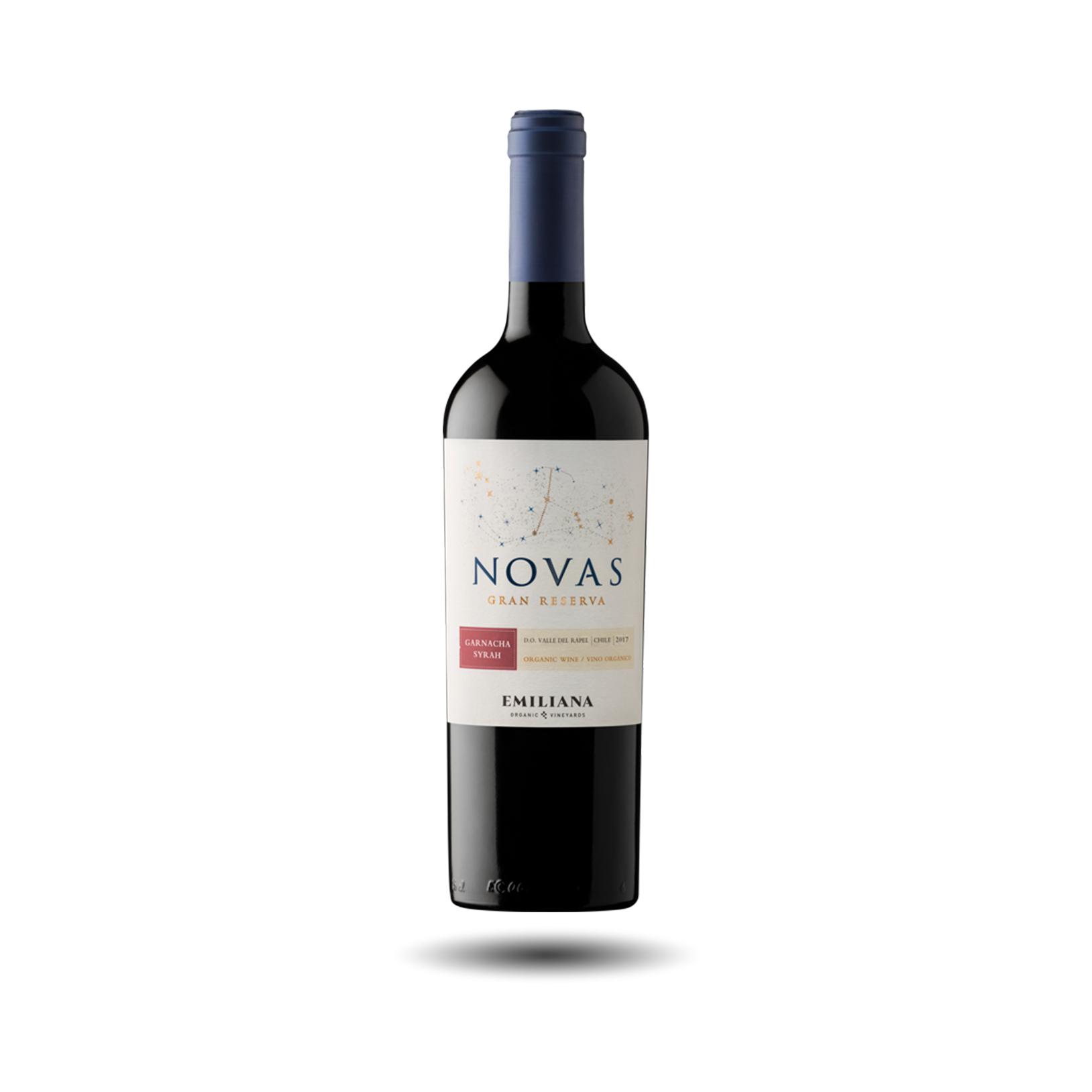 Emiliana - Novas, Syrah/Garnacha, Gran Reserva 2018