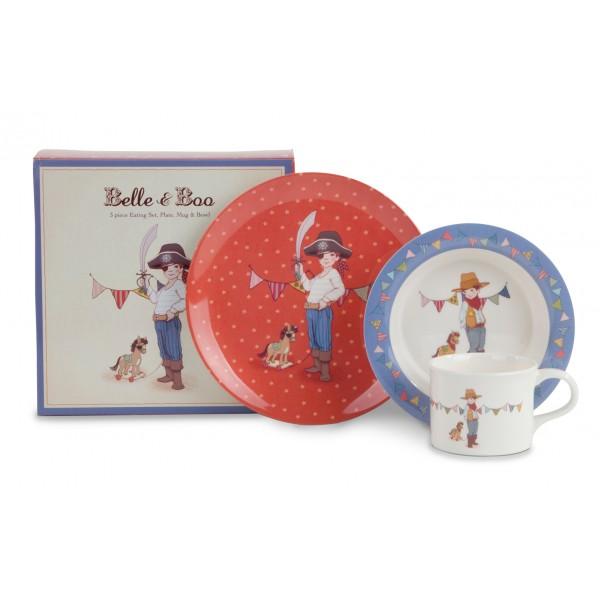 Belle & Boo Melamine Set