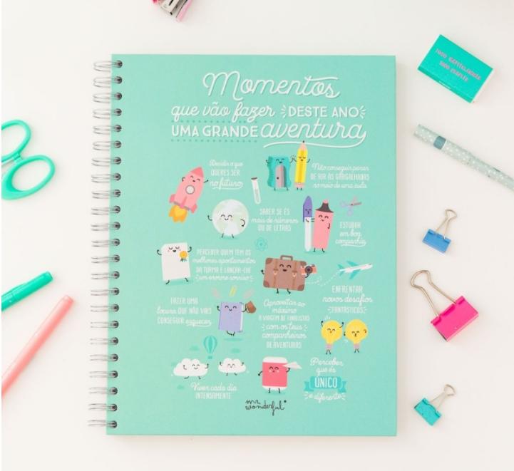 Caderno grande - Momentos que vão fazer deste ano uma grande aventura