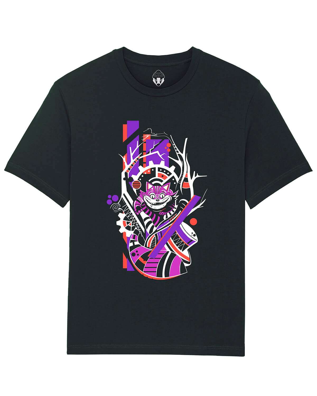 T-shirt Gato de Cheshire