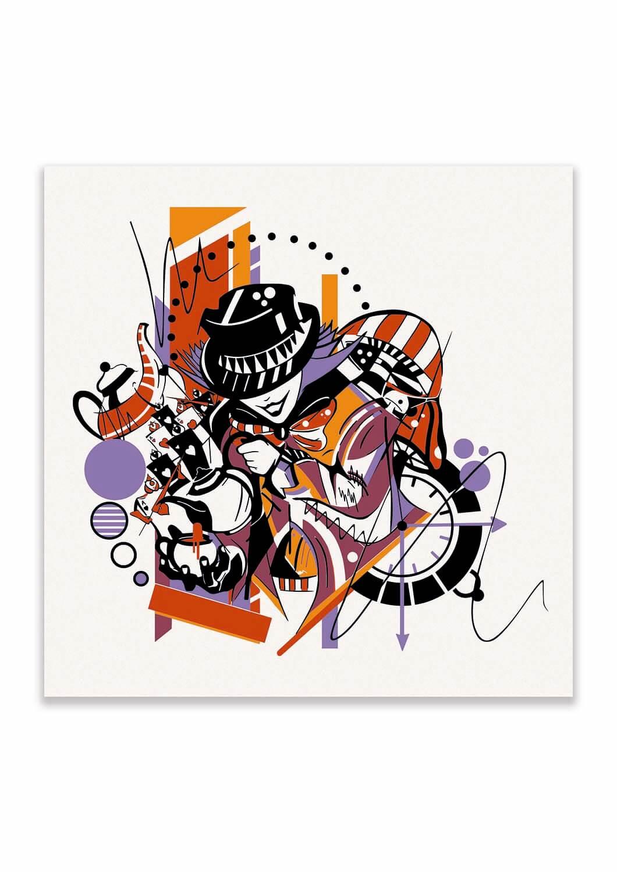 Mad Hatter Print