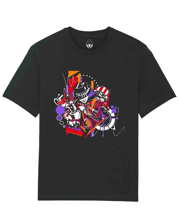 T-shirt Chapeleiro Louco