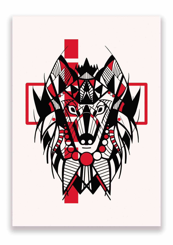 Impresión de Lobo