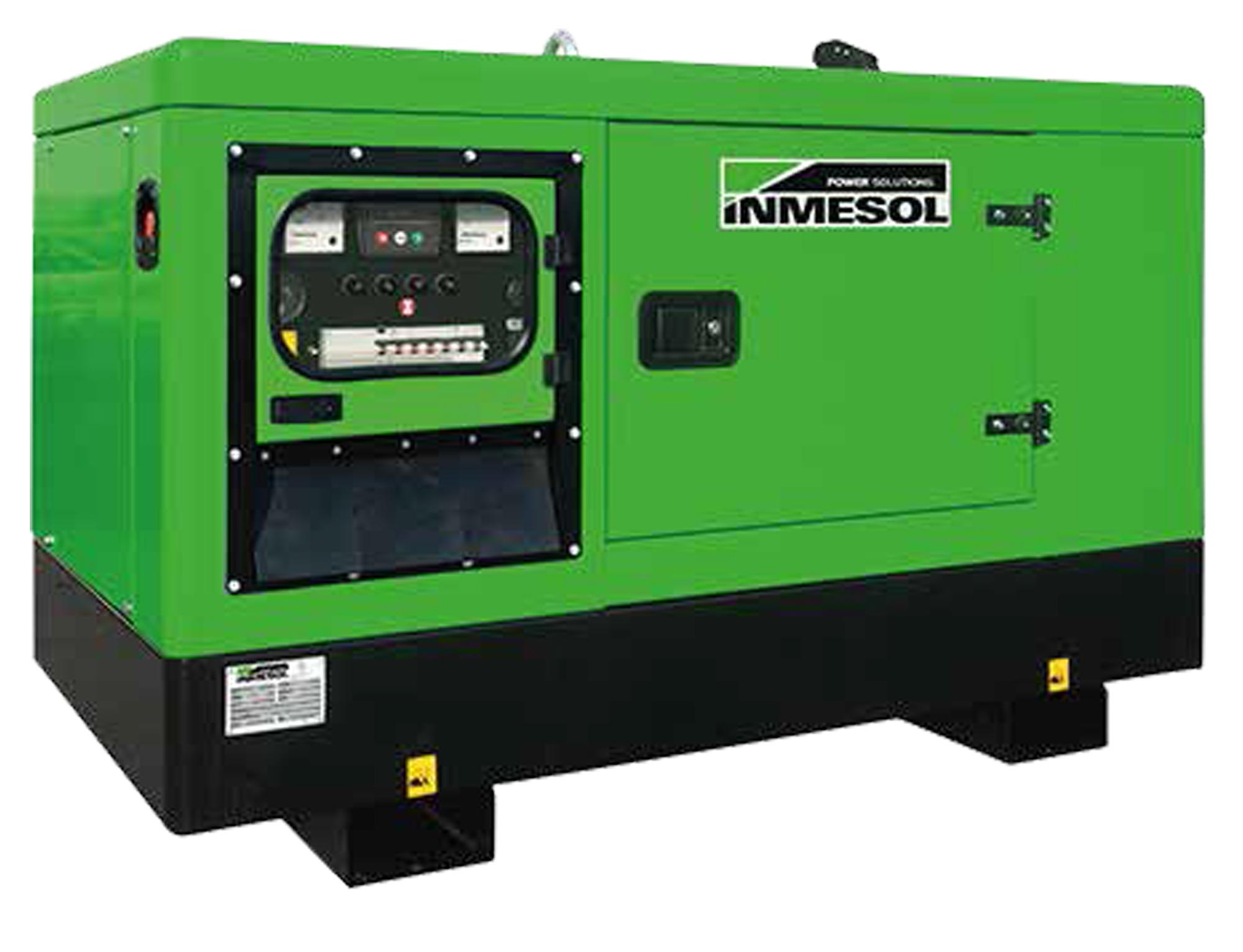 Generador Industrial Trifásico Insonorizado 17 Kva Diesel