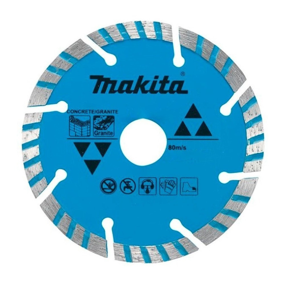 Disco Diamantado 115mmx22.23mm Turb./Seg Concreto Y Granito Makita