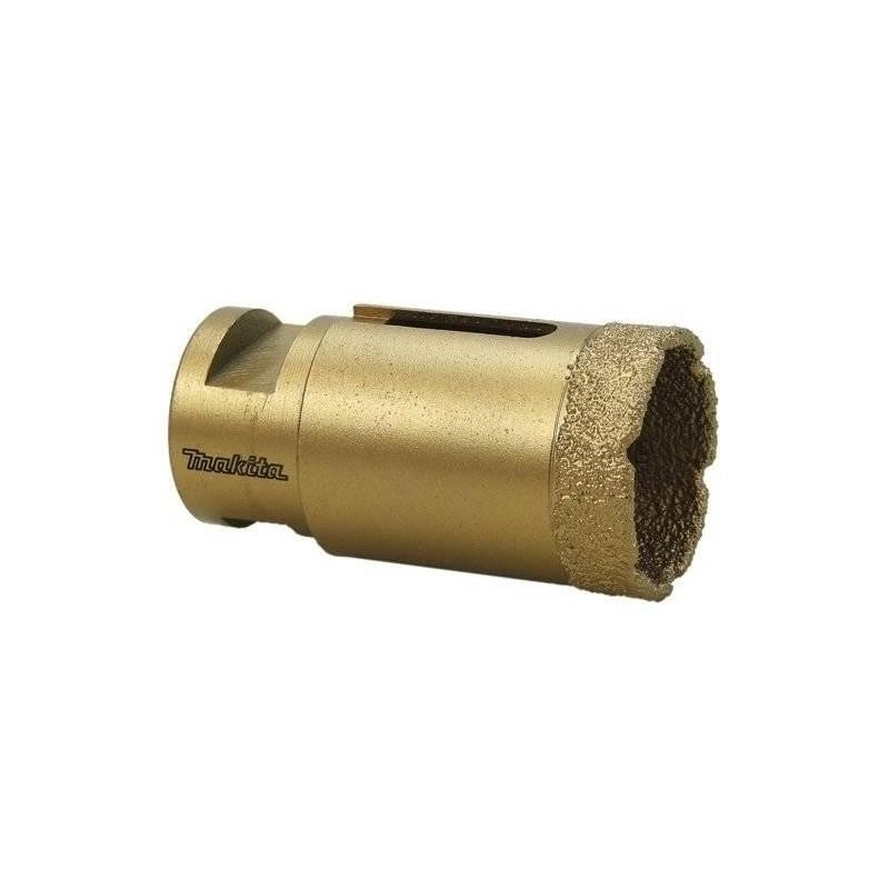 Broca Copa Diamantada 30 mm. Para perforaciones en Marmol - Granito - Marmolina - Makita