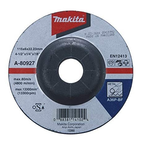 Disco Desbaste Metal 4-1/2