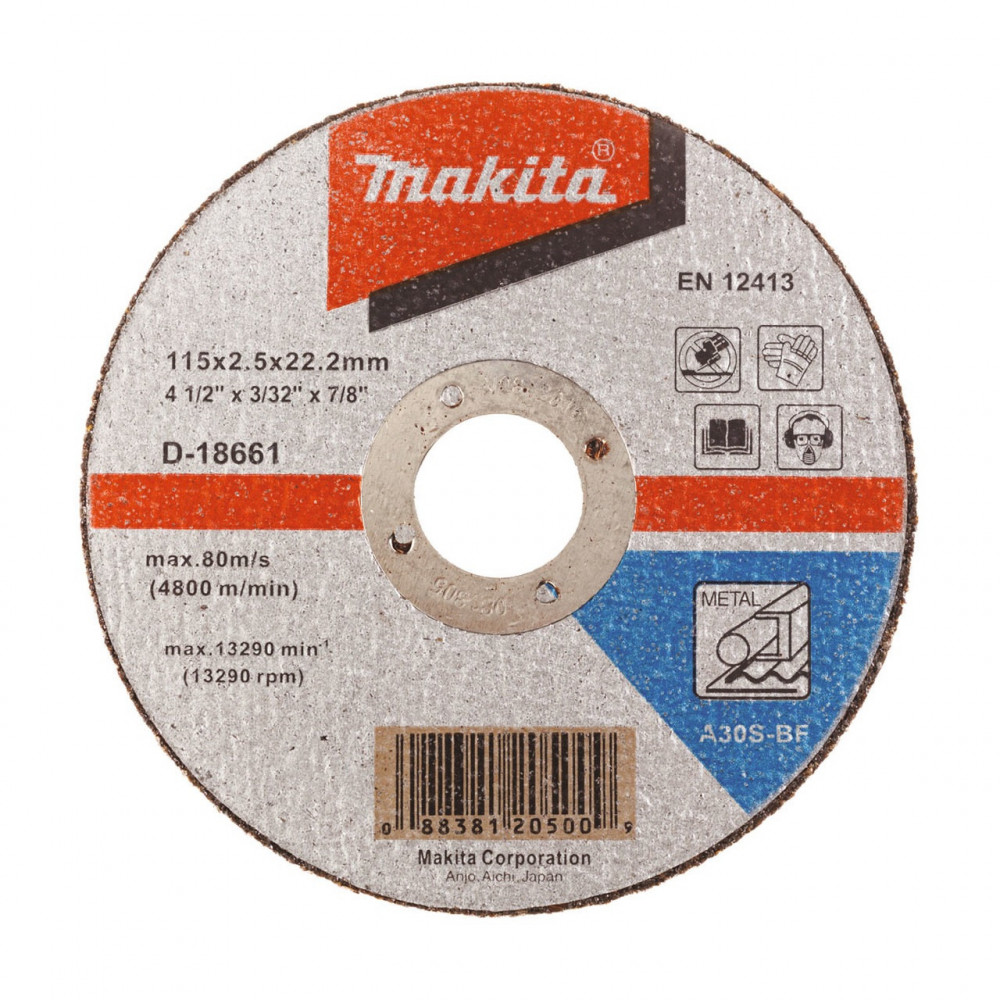 Disco Corte Metal 4-1/2