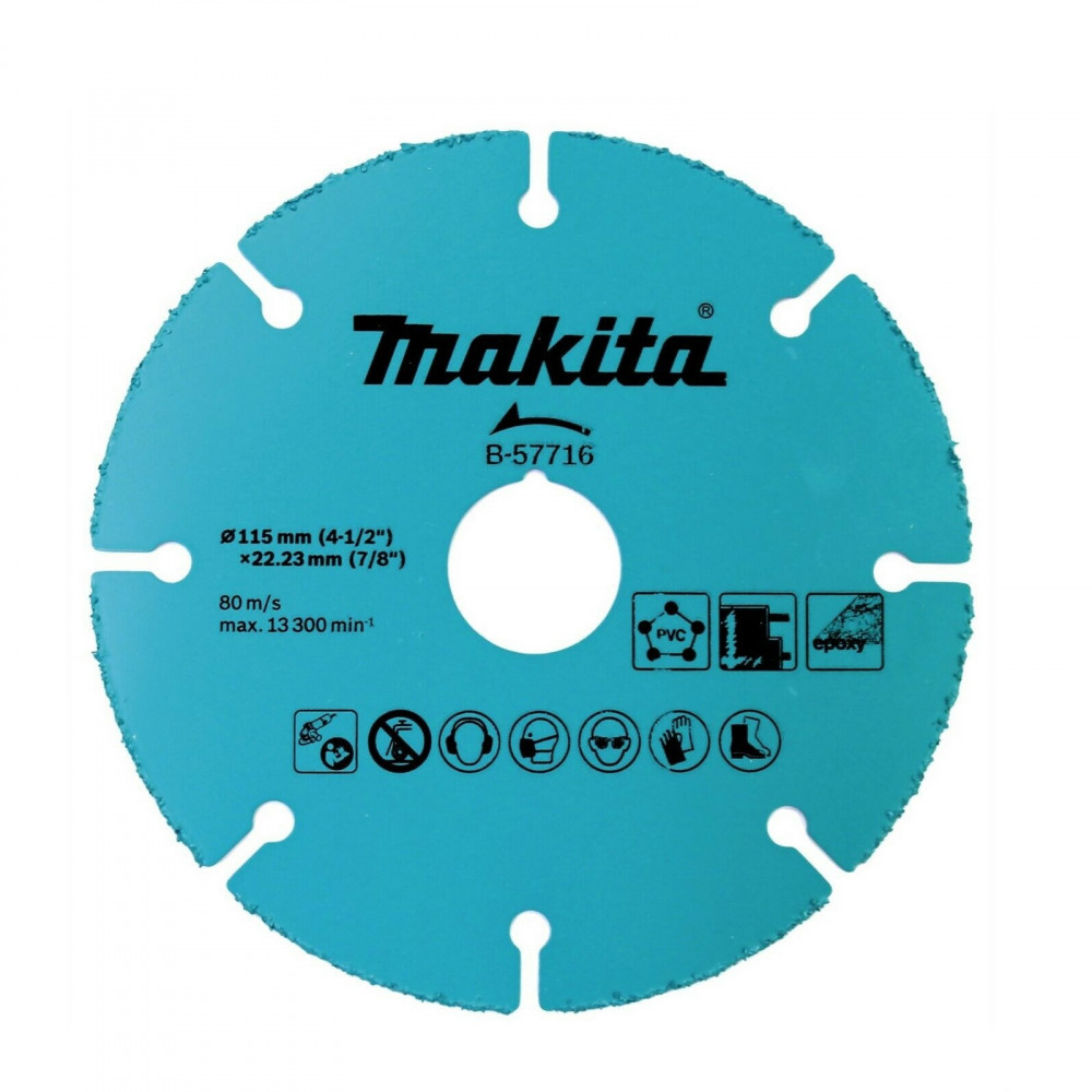 Disco De Sierra Grano Carburo 115mm x 1.0mm x 22.23mm - Hm Makita