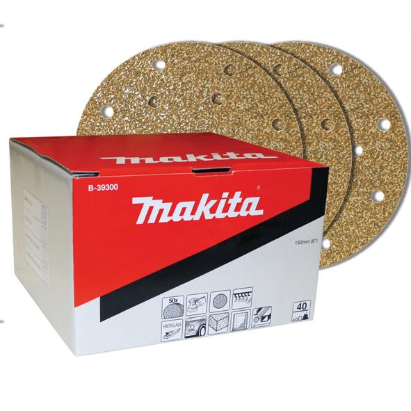 Lija Multiproposito Makita Grano40 150mm Bo6030/6040