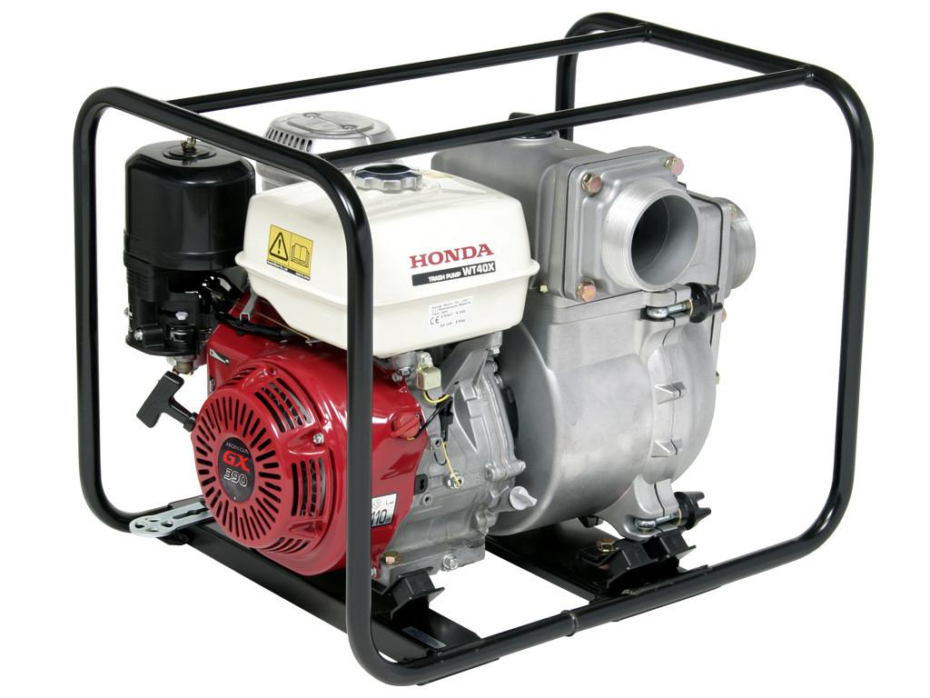 Motobomba Agua Turbia Honda Wt40