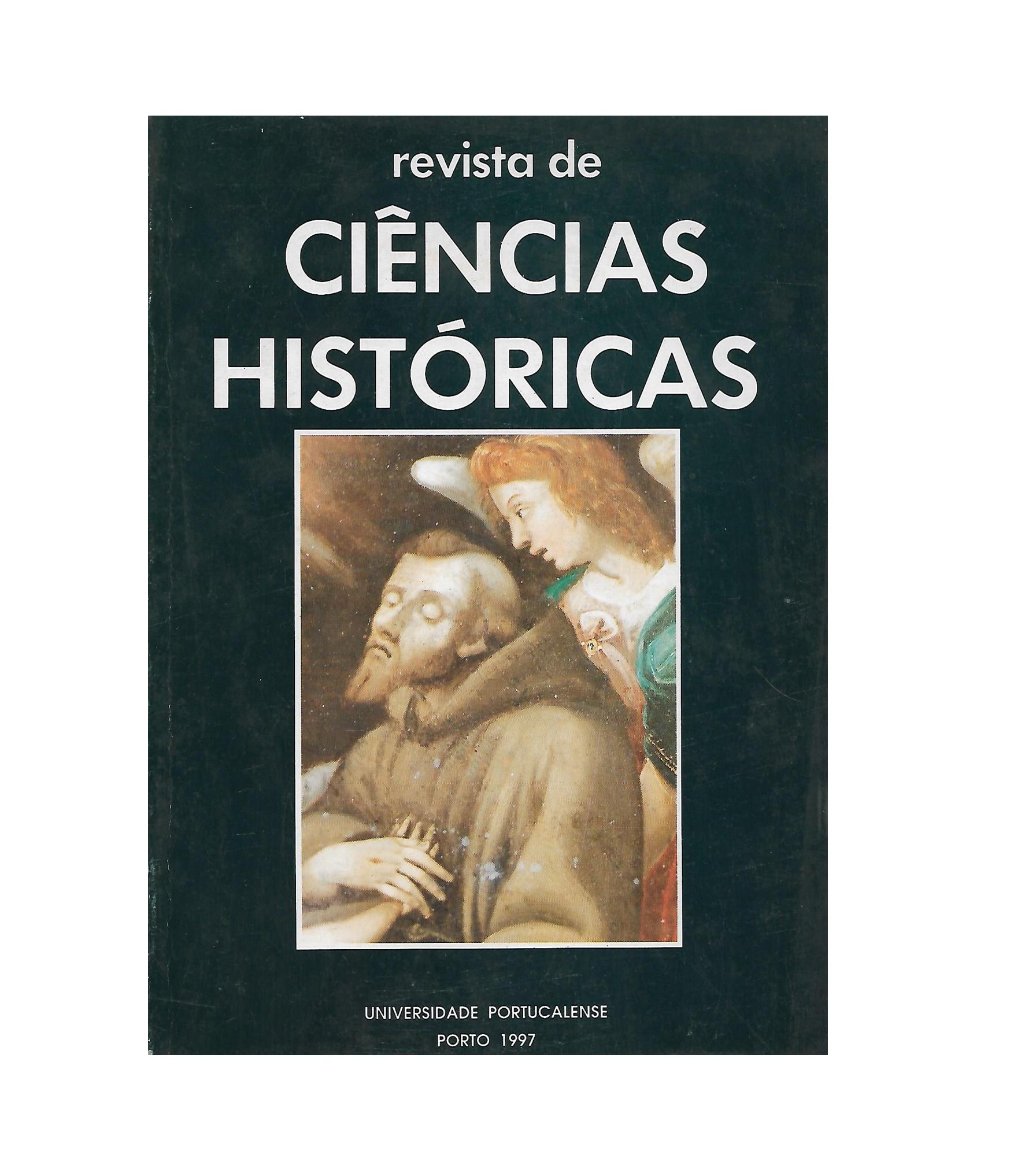 REVISTA DE CIÊNCIAS HISTÓRICAS. VOL. XII