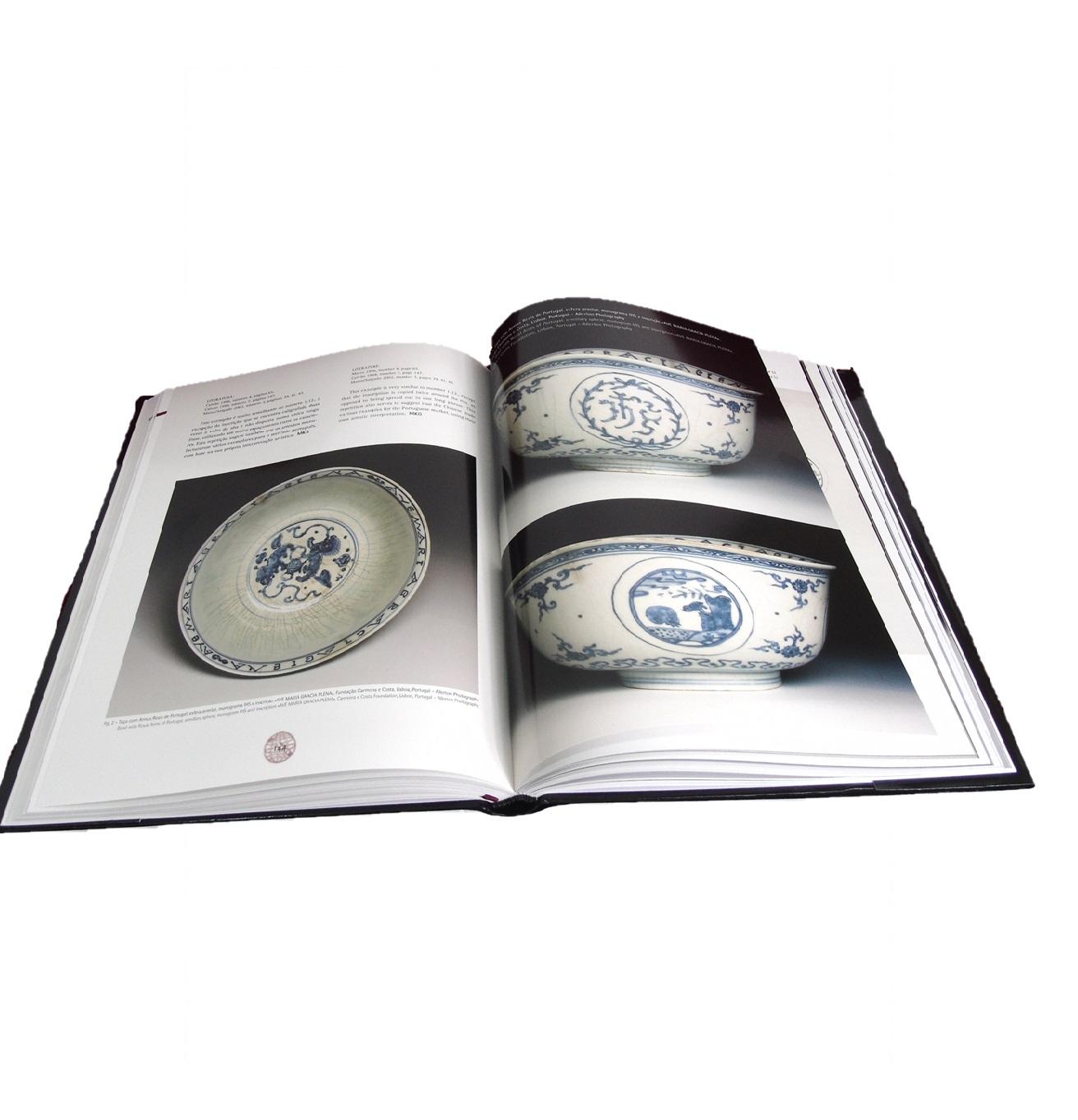 Portugal na Porcelana da China:  Dinastia Ming (1500 a 1650) (Vol. I).
