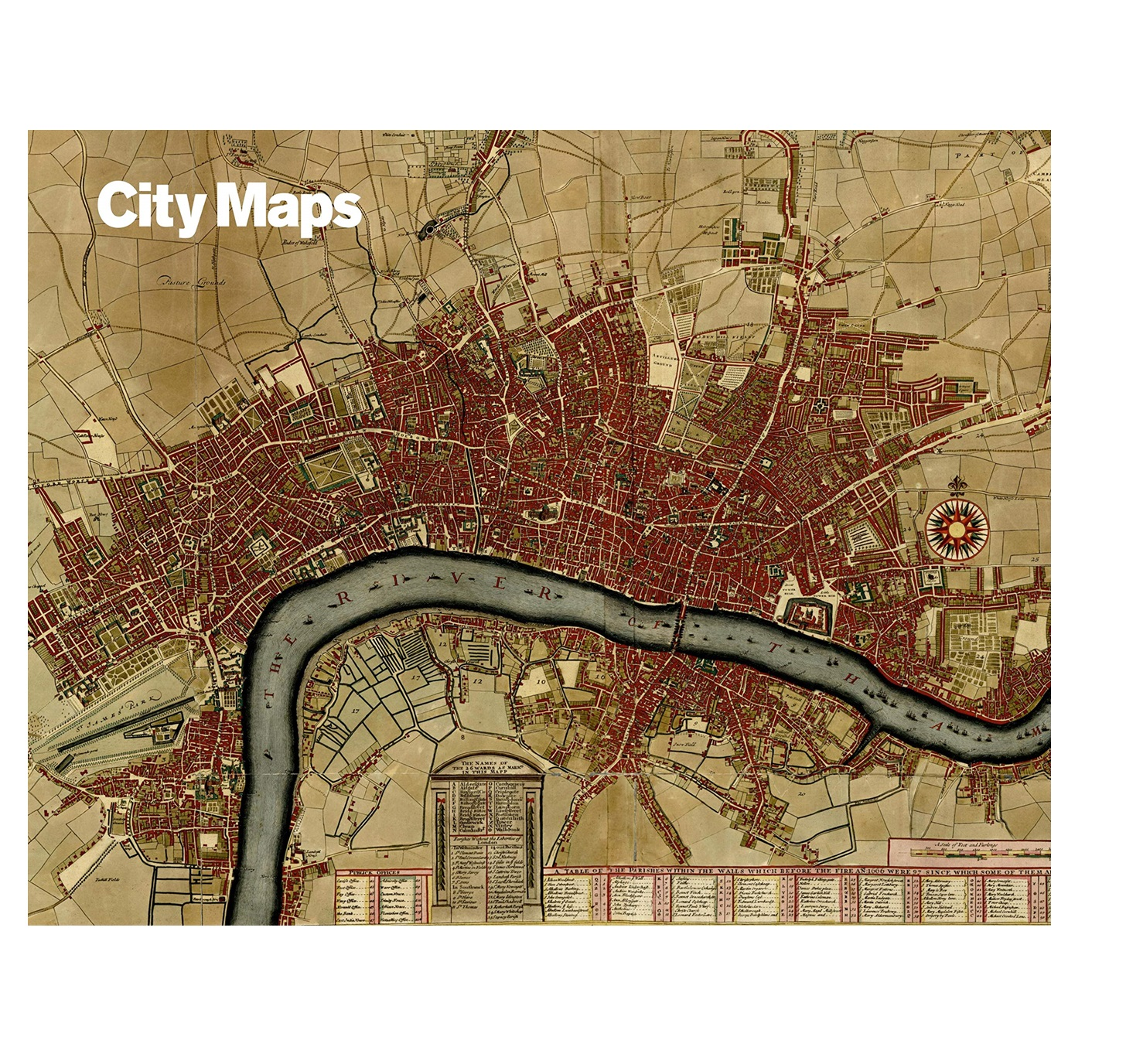 City Maps 5 - Poster