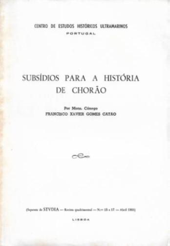Subsídios para a História de Chorão