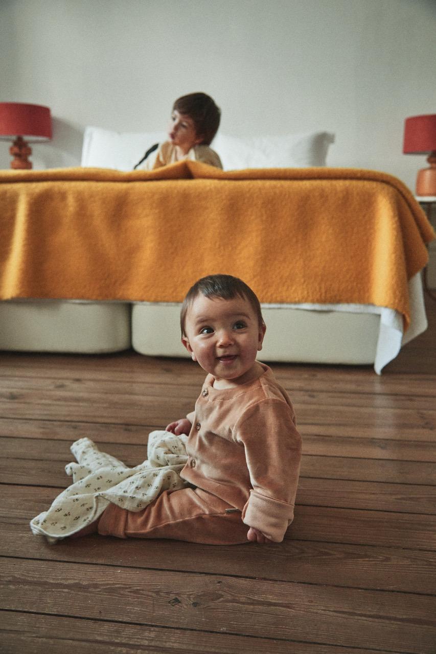 Enterito Meleze terciopelo, Indian Tan