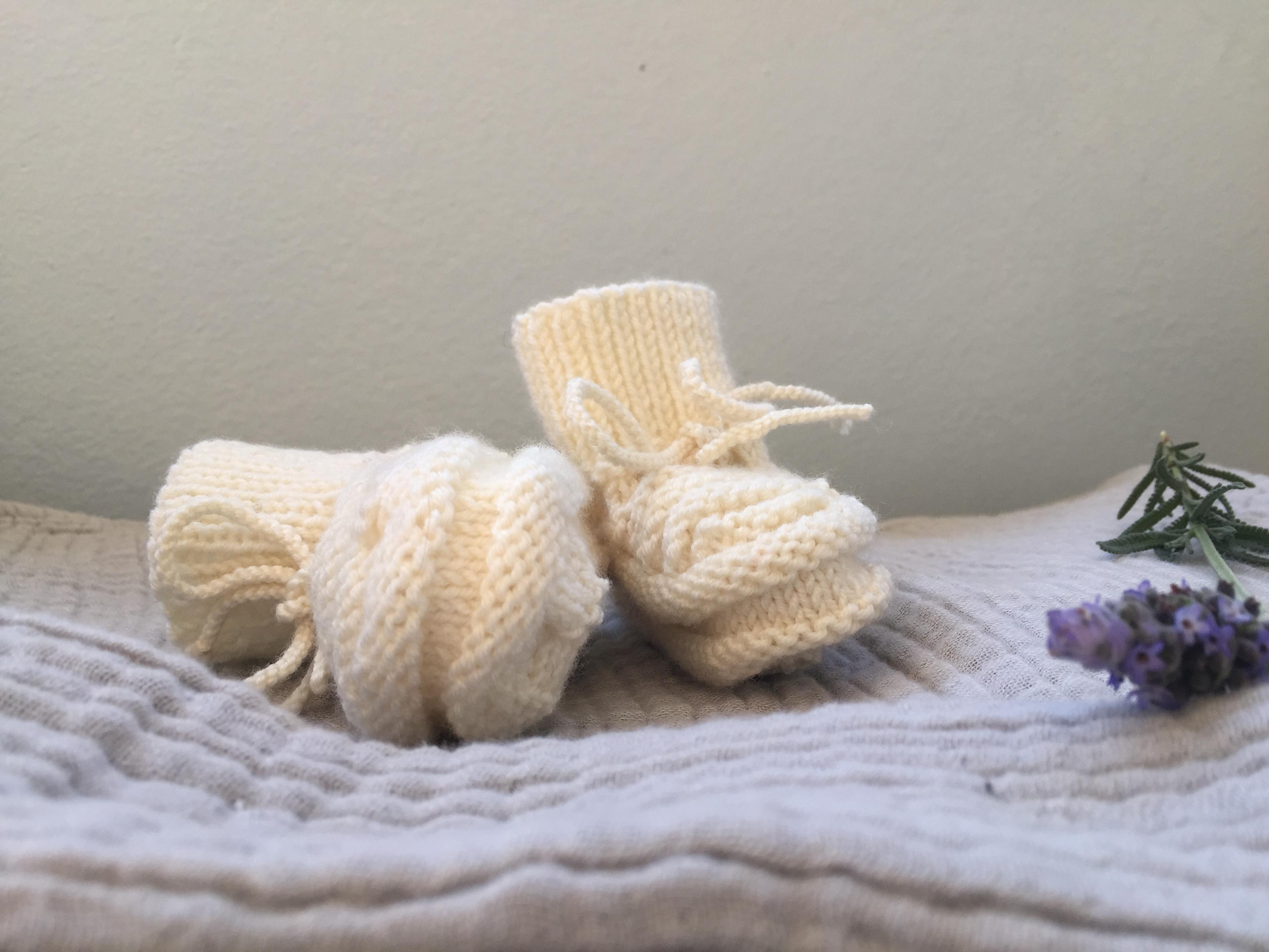 Botines ~ Merino wool ~ Baby Alpaca