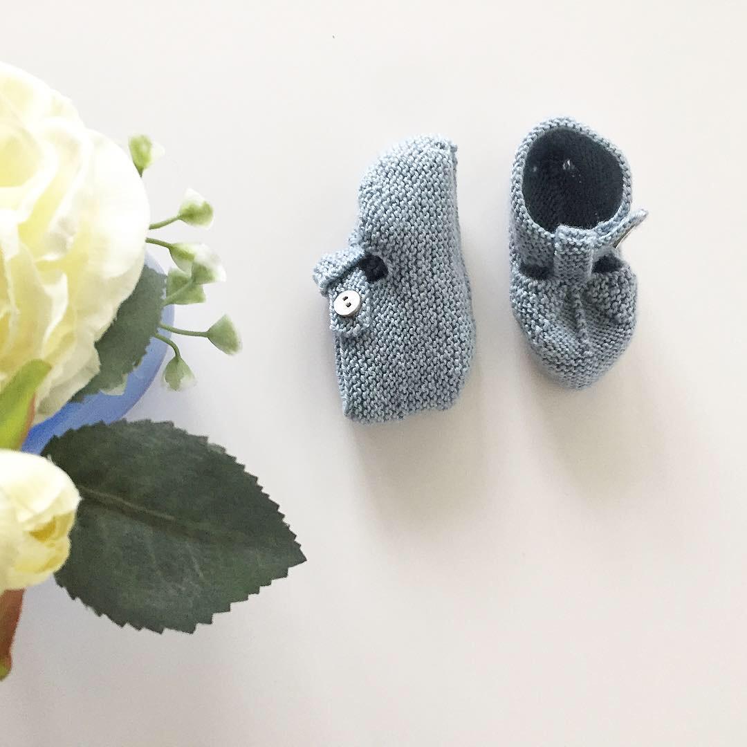 Botines 3-6m, Merino Wool / Baby Alpaca