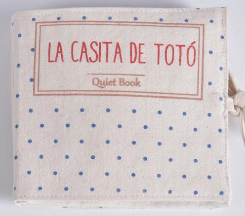 Quiet Book, La casita de Totó