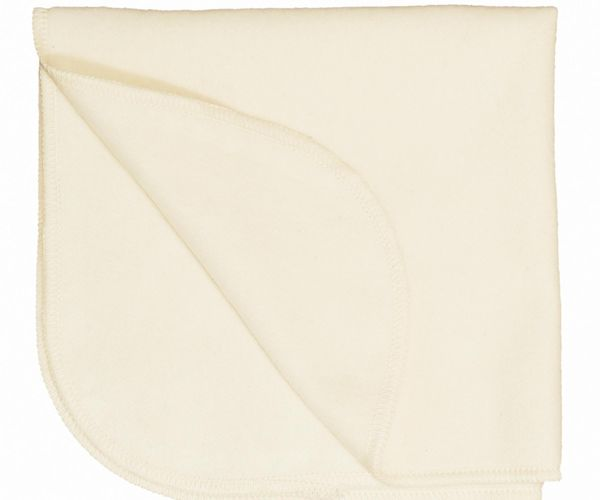 Disana Forro de algodón orgánico cepillado, pack 5, para pañales tejidos y más.