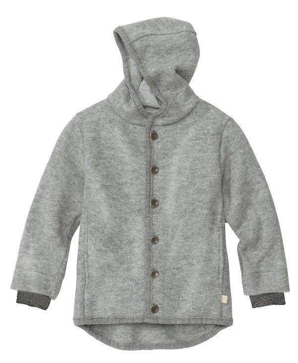 Boiled Merino Wool Jacket, Grey
