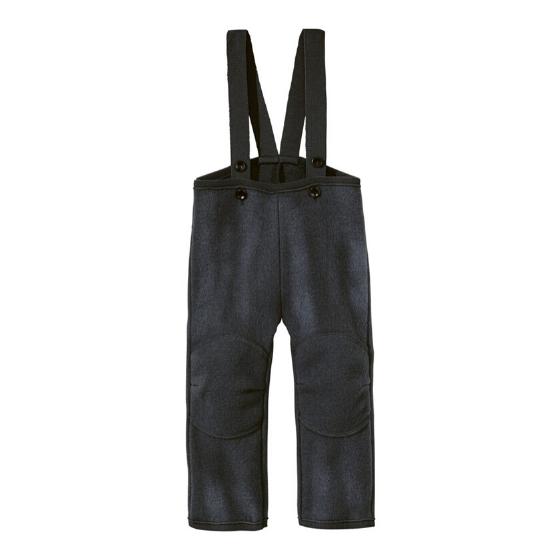 Merino Wool Trousers, Anthracite