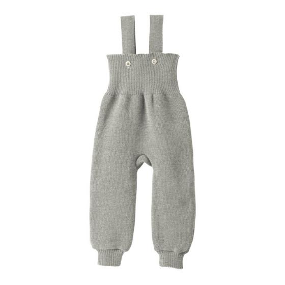 Jardinera Disana, Merino Wool Knitted, Grey