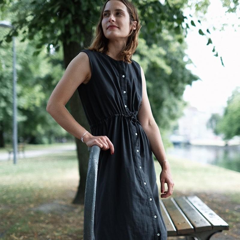 Vestido Magnolia, Pirate Black