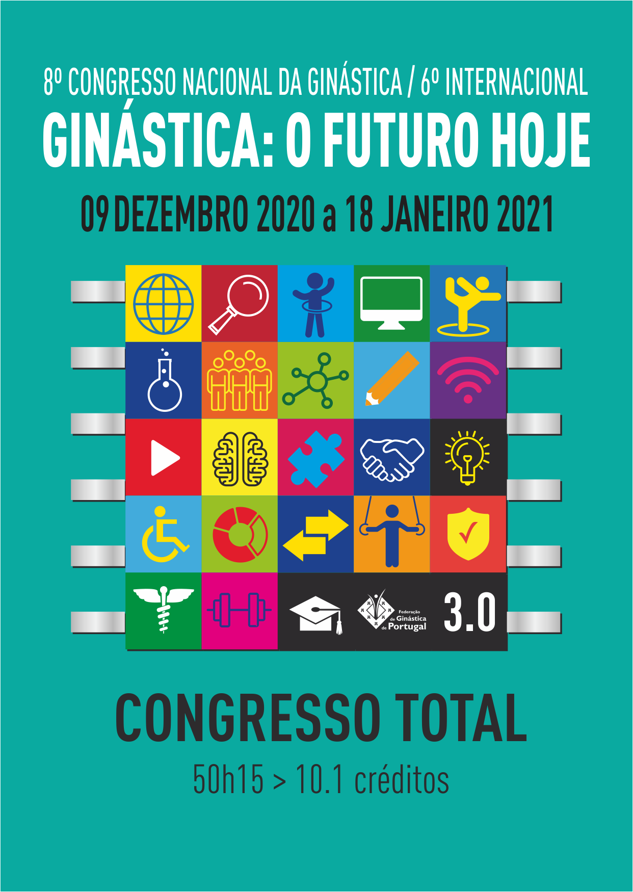 8º Congresso da Ginástica 2020 - Total